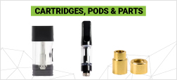Oil Cartridges and 510 Thread Battery Parts